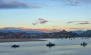 View of the San Vicente Estuary in the evening